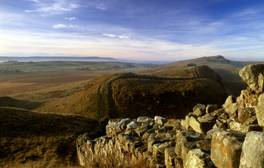 Walk alongside Roman history at Hadrian's Wall