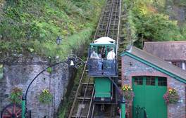 Celebrate 125 years of the Lynton and Lynmouth Cliff Railway