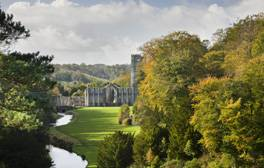Stay at the World Heritage Site of Fountains Abbey