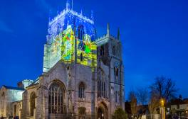 See Lynn Lumiere light up King's Lynn's historic buildings