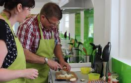 Hone your skills at The Farm Cookery School