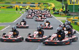 Choose your adrenaline fix at Karting North East