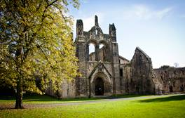 Explore the magnificent ruins of Kirkstall Abbey