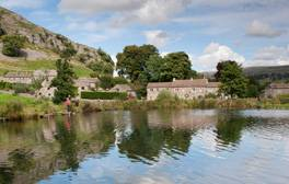 Fishy fun at Kilnsey Park in stunning Wharfedale