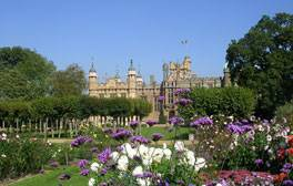 Rock concerts and Gothic architecture at Knebworth House