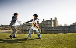 Discover something for all ages to enjoy at Leeds Castle
