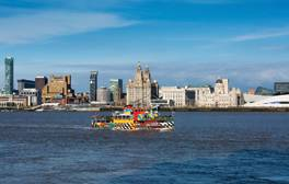 Take an iconic ferry trip across the Mersey