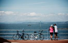 Ride along Morecambe's seaside cycle way