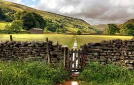 Journey from coast to coast across England