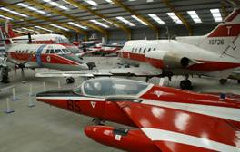 See a host of military aircraft at Newark Air Museum