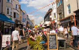 Uncover Brighton's bohemian charms during your visit
