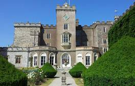 Explore the stately rooms of Powderham Castle