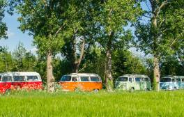 Bed down in a VW campervan and explore Bath's rolling countryside