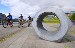 Discover outdoor art on the Riverside Sculpture Trail