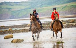 Saddle up for windswept romance on the Yorkshire coast