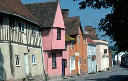 Fall for Lavenham's medieval charm on a romantic winter break