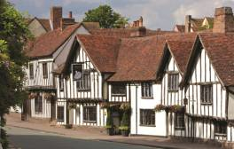 Fall in love with picture perfect Lavenham