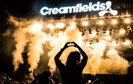 Experience a world-famous electronic festival at Creamfields