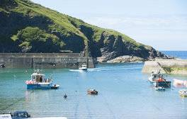 Escape to Port Isaac for a coastal break