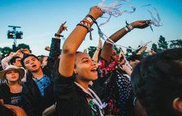 Party hard at the Wireless Festival 2016