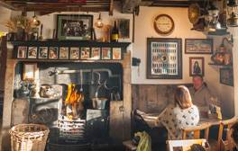 Take a brisk winter walk and curl up in a cosy pub