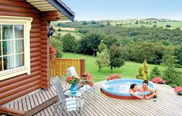Enjoy being pampered in your own moorland lodge retreat