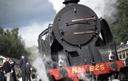 Enjoy a magical ride across the English countryside