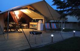 Ditch the tent in favour of glamping at Teversal Campsite