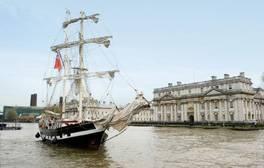 Set sail in Royal Greenwich this summer
