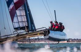 Cheer on the UK's first America's Cup World Series races