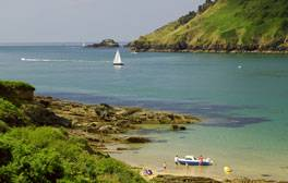 Head to Salcombe for butterscotch beaches and electric blue water