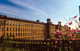 Industry meets art at Salts Mill