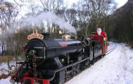 Join Santa on the La'al Ratty through Eskdale