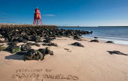 Discover the seaside charm of South Shields