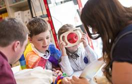 Read all about family breaks at Seven Stories