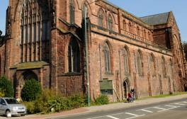 Visit Shrewsbury Abbey, fictional home of Brother Cadfael