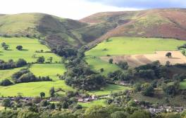 Beat the Christmas Pud on the Shropshire Hills