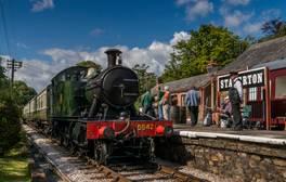 An Bord der South Devon Railway