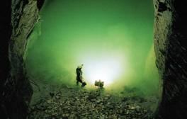 Journey underground at Castleton's Caves