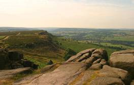Walk the breadth of spectacular Stanage Edge