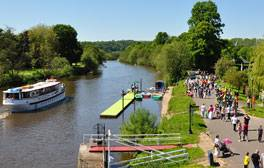Find riverside amusements aplenty in the Severn Valley