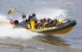 Feel the thrill of the chase with the Thames RIB Experience