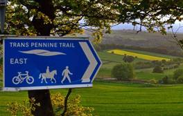 Be surrounded by beauty on the Trans Pennine Trail