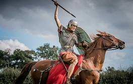 Visit a unique Roman cavalry exhibition along Hadrian's Wall