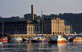 Explore naval history at the Royal William Yard