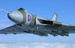 See the last operating Vulcan bomber in flight