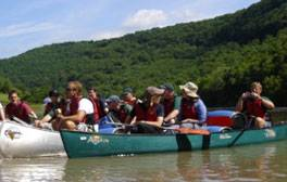 Try a canoeing adventure along the River Wye