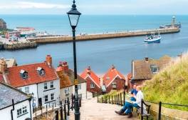 Sampling England's national dish in historic Whitby