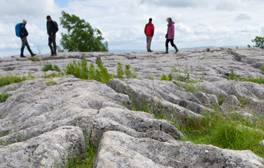 Seek out inspiring views atop Malham Cove