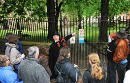 Join Nottingham's famous ghost walk